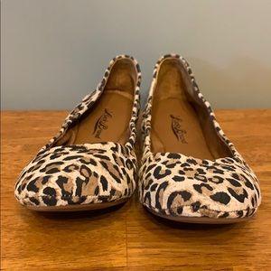 Brand New Lucky Brand Cheetah Flats Women's 6